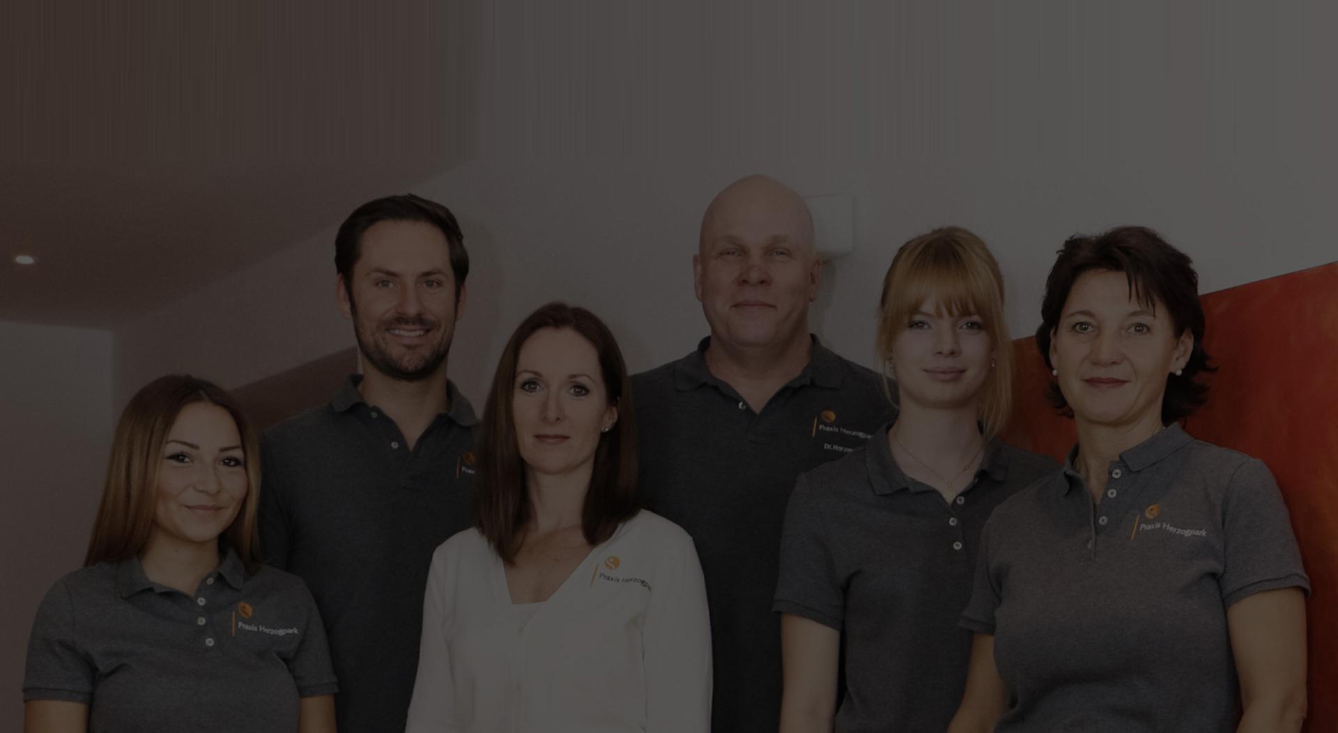 Das Team der Orthopädie Praxis Herzogpark